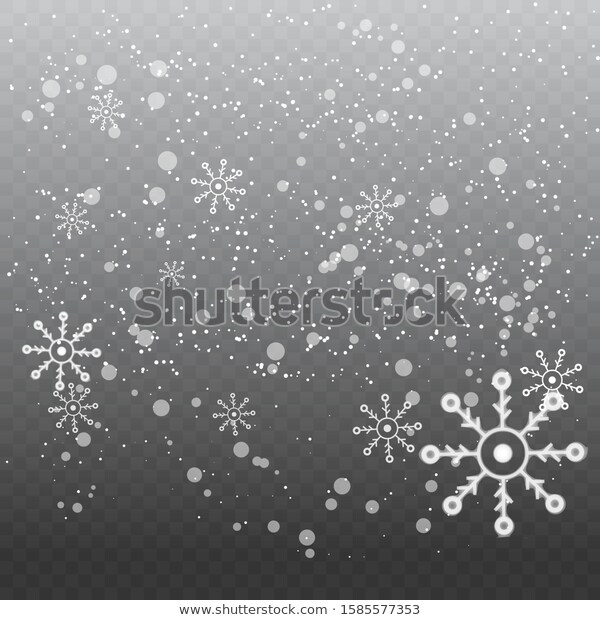 Snowflake Design Background Particles Dust Design Royalty Free Stock Image