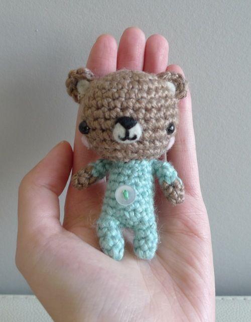 Pattern: Baby P.J. Teddy | All About Ami | Crochet Amigurumi ...