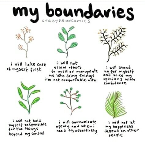 My boundaries @crazyheadcomics  Love this💕 on We Heart It
