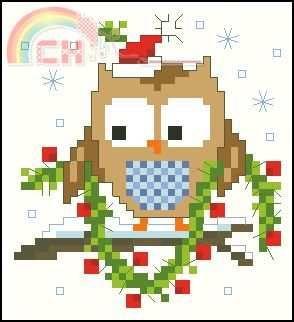Vervaco PN-0147605 Kruidenzakje uil conheceu kerstmuts.jpg