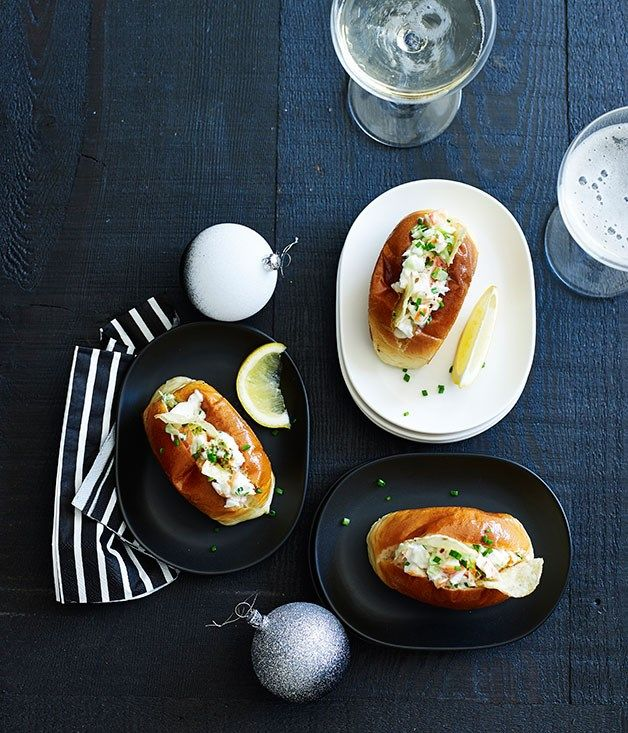 Mini lobster rolls recipe | Coogee Pavilion :: Gourmet Traveller
