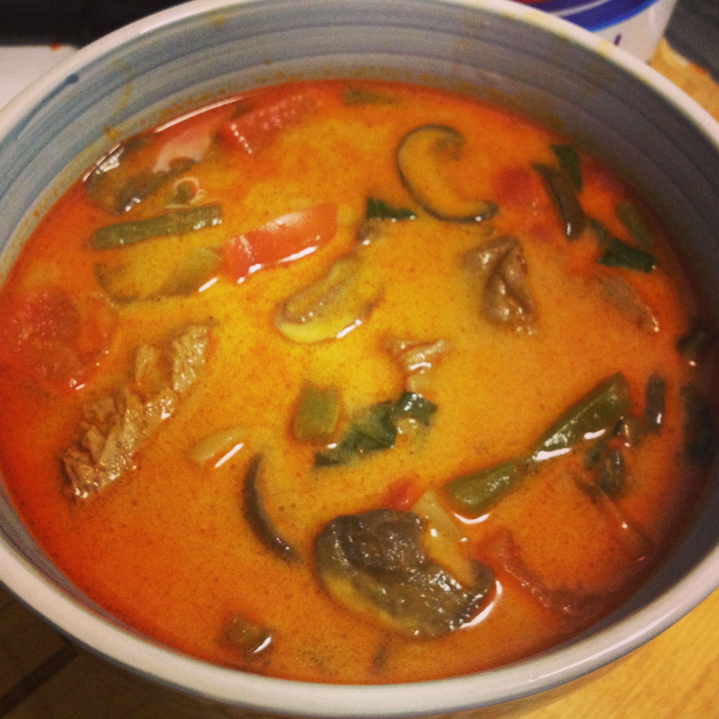 Thai Red Curry Soup Recipe — Dishmaps