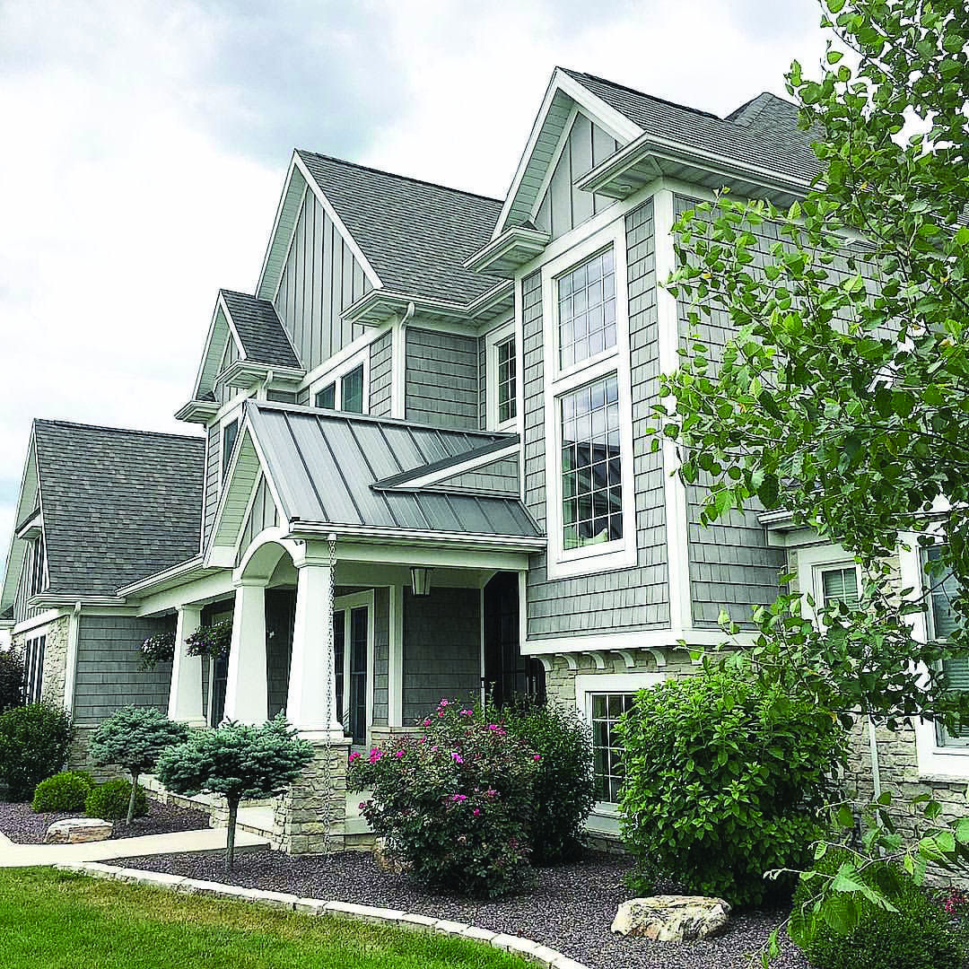 Metal Roofing Homes Tre Lake Houses Exterior Gray House Exterior Metal Roof