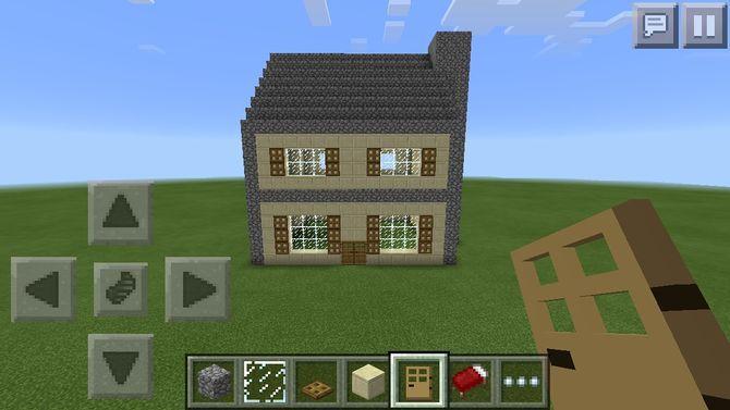 Minecraft Pe Houses 02 Minecraft Wallpapers Minecraft Pe