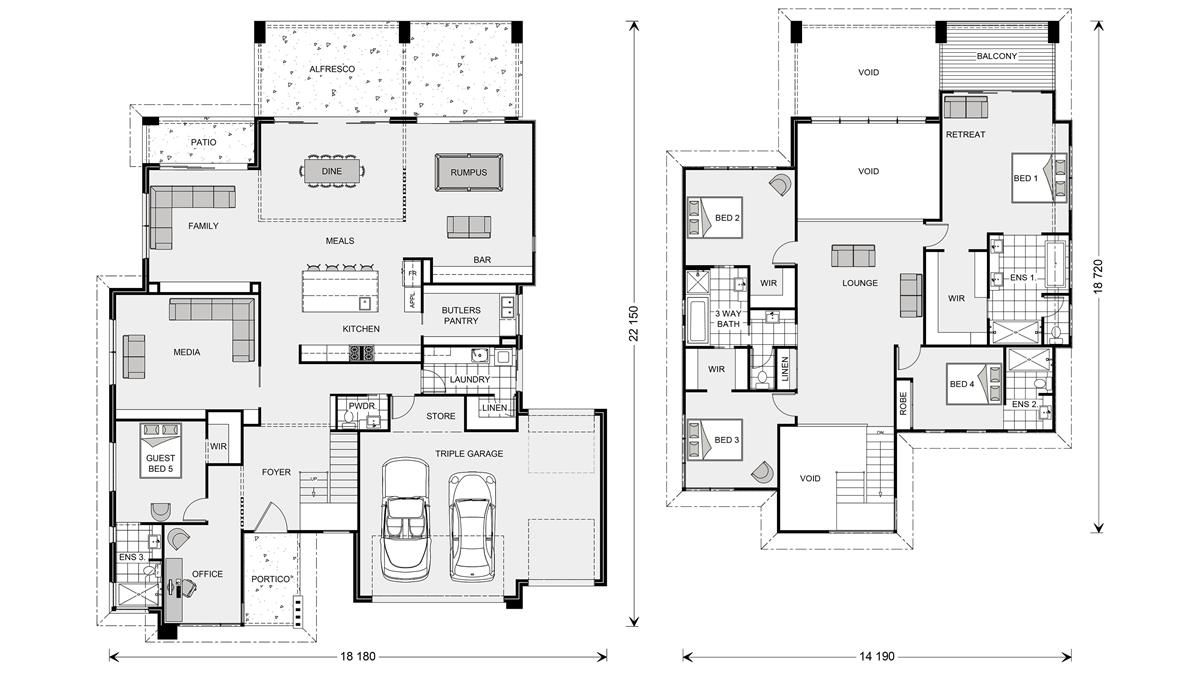 Blue Water 530, Home Designs in Bass Coast