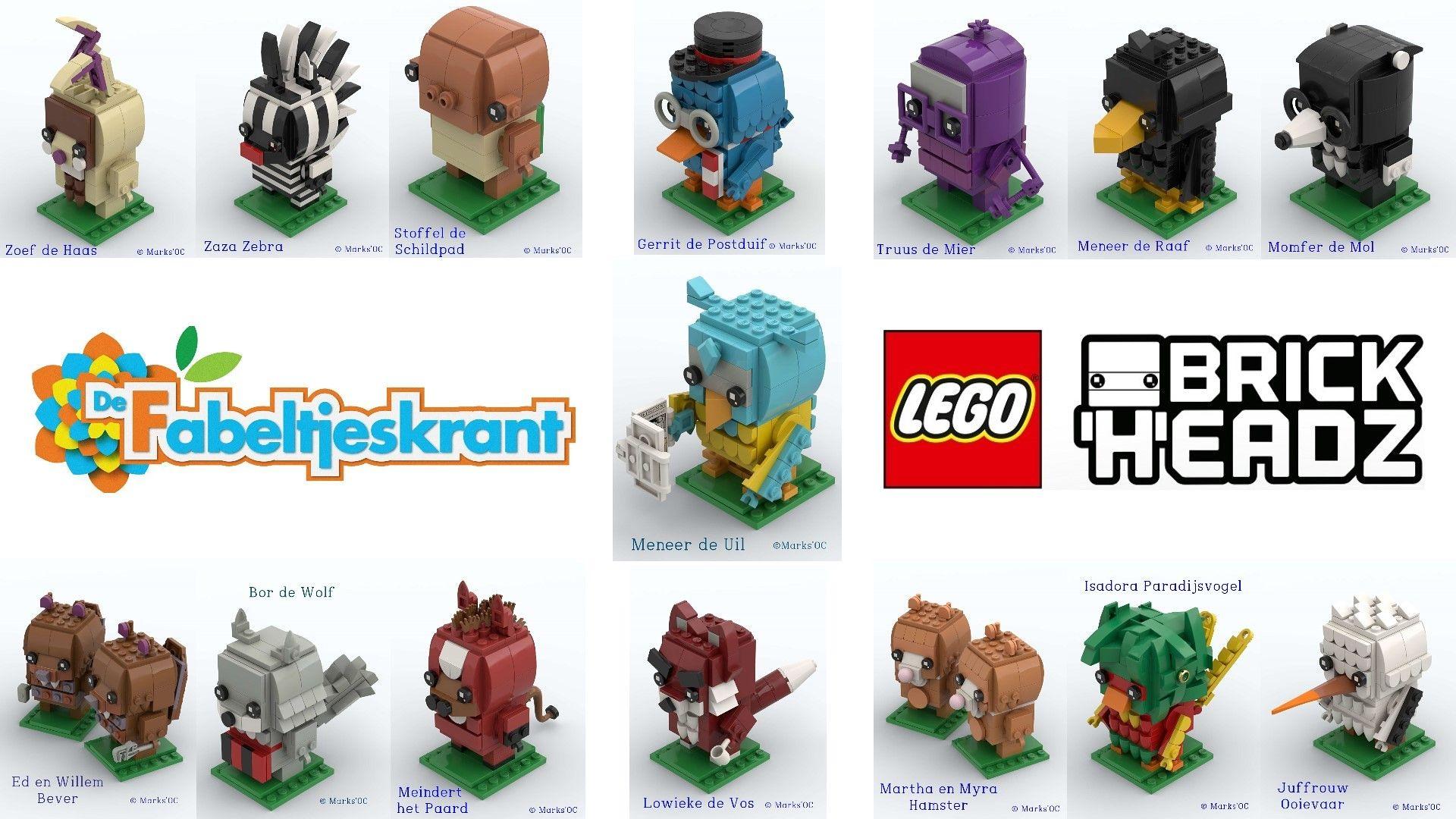 Fabeltjeskrant Lego Gaming Logos