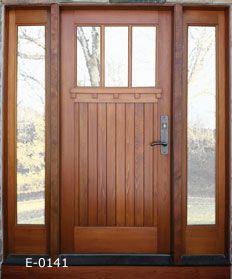 exterior door with sidelights - Google Search | Doors | Pinterest ...