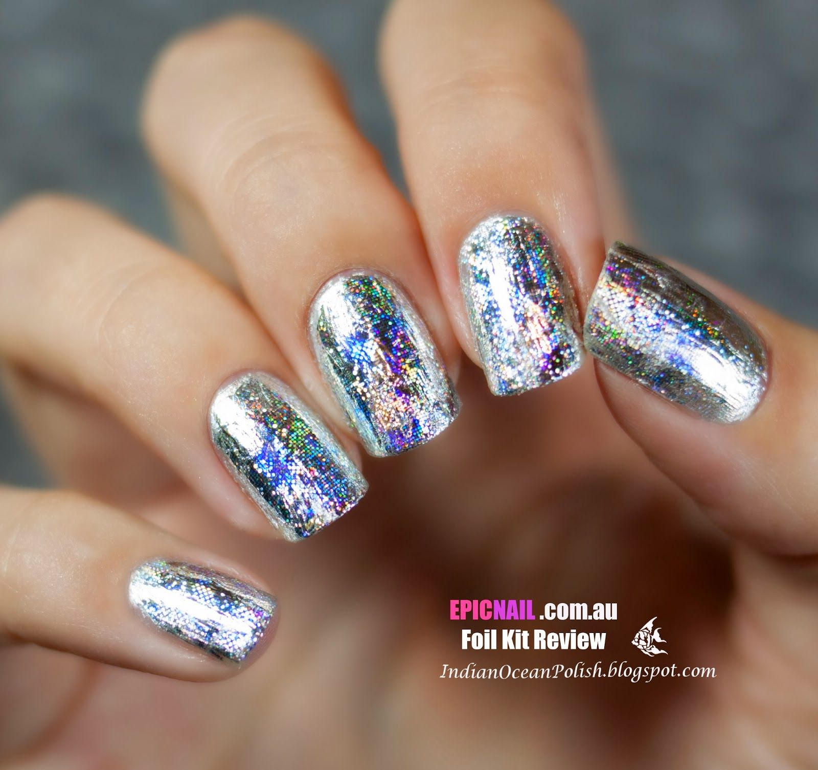 Indian Ocean Polish: Review: Epicnail New Nail Foil Kits ...