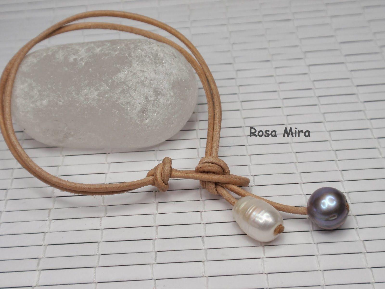 Con perle e molto altro ancora ...: Bracciale con perle naturali PU.0182