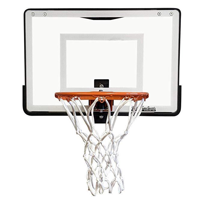 Amazon Com Justintymesports Wall Mounted Mini Basketball Hoop Mini Pro 1 0 Wall Mount Basket In 2020 Mini Basketball Hoop Mini Basketballs Office Basketball Hoop