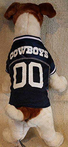 af76aca28 DALLAS COWBOYS Dog Jersey ALL SIZES Licensed NFL Large    More info could  be found at the image url.Note It is affiliate link to Amazon.  DogsCollar