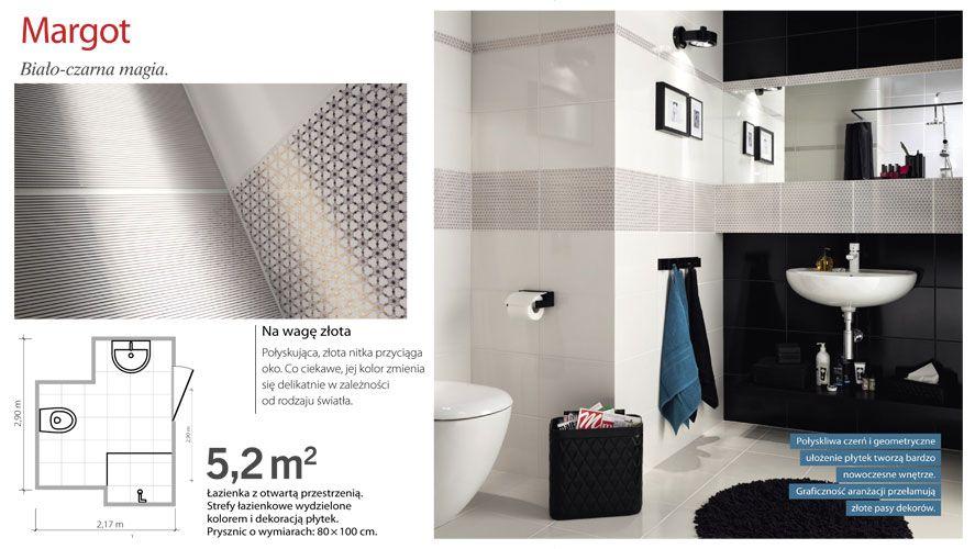 Margot - Aranżacje i płytki łazienkowe - Kolekcje i aranżacje | Ceramika Domino - płytki ceramiczne na lata