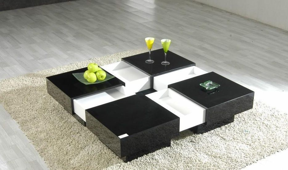 Home Page Coffee Tables Modern Design Modern Square Coffee