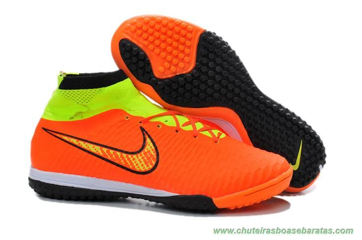 brand new 1c040 c8af0 Nike Magista Obra IC ACC Laranja Masculino comprar chuteiras baratas