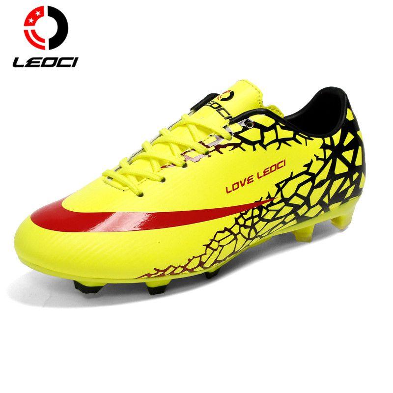 LEOCI Soccer Cleats Boots Turf Football