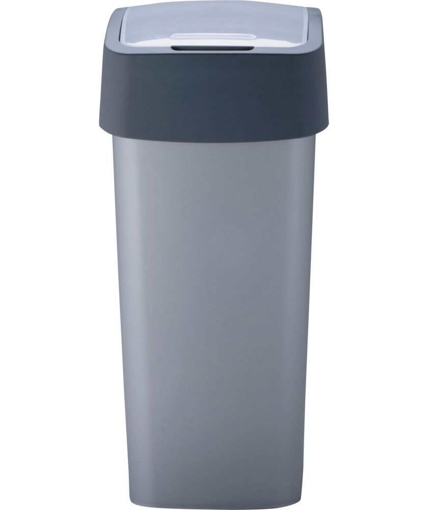 50 Litre Roll Lid Dust Bin 904233 Bullet Shaped Dispose Your Household Or Office Waste Efficiently And Effectively In These Sleek Plastic