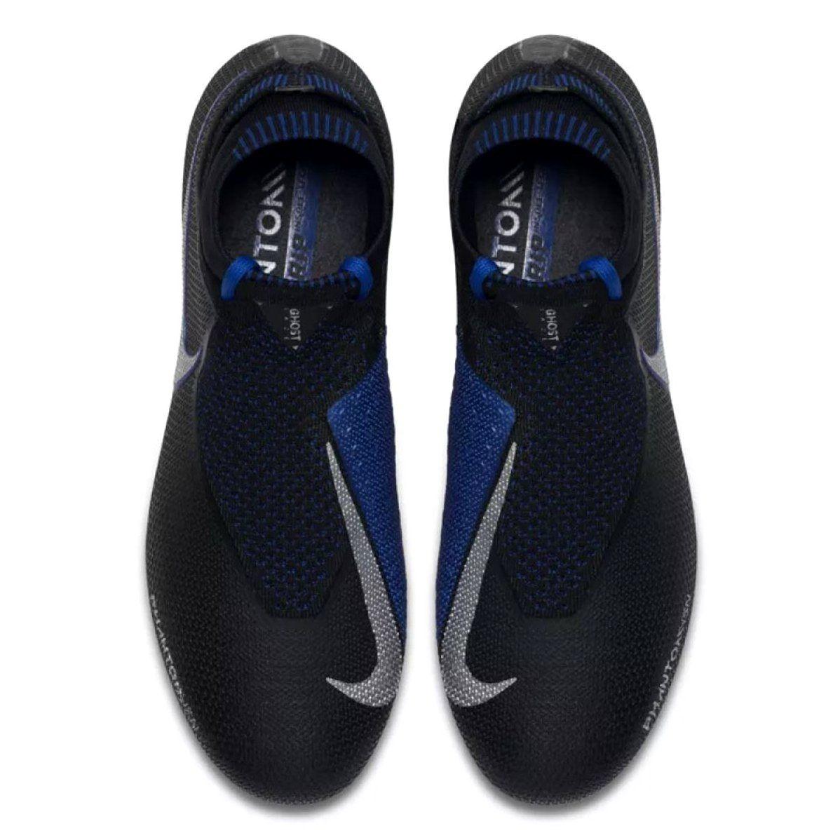 Buty Pilkarskie Nike Phantom Vsn Elite Df Sg Pro Ac M Ao3264 004 Czarne Czarne Football Boots Black Boots Football Shoes
