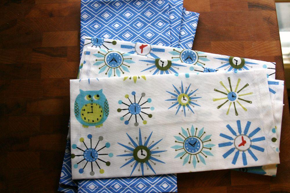 Housewarming Gifts Part 1: Cloth Napkins #clothnapkins