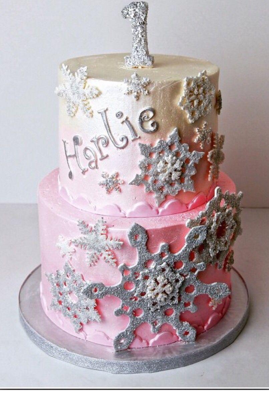 Harlies 1st Birthday Cake By Sweet Panache Bakery NYC A Princesses