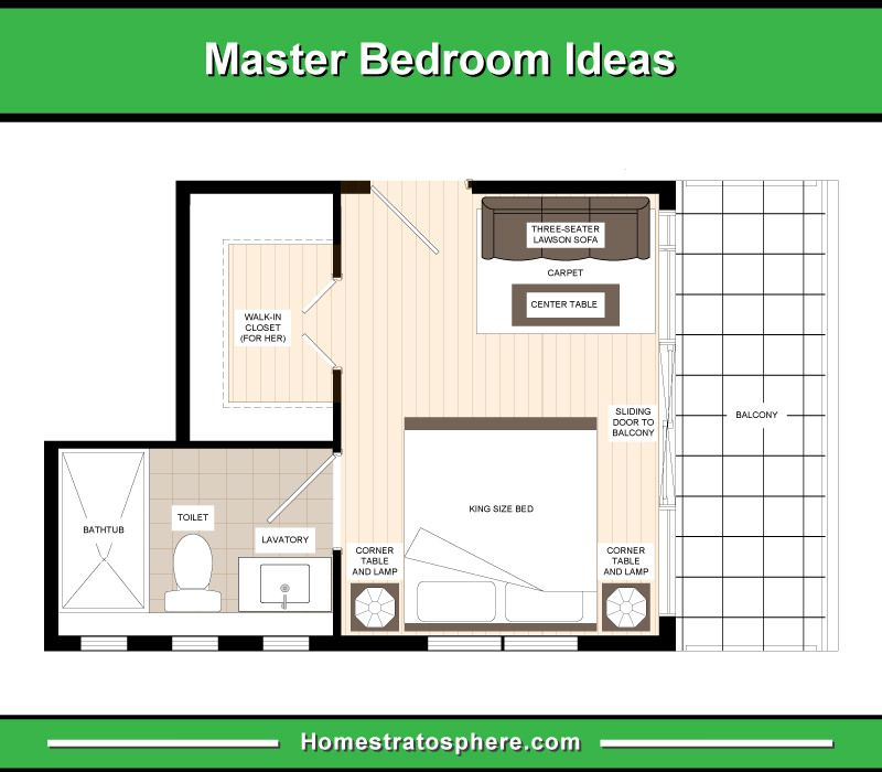 13 Primary Bedroom Floor Plans Computer Layout Drawings Master Bedroom Layout Bedroom Floor Plans Master Bedroom Plans