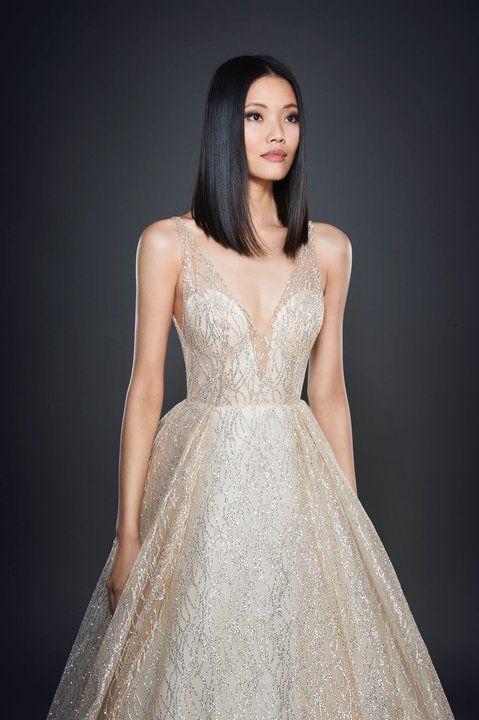 265909088da Lazaro Style 3662 Champagne ballgown Lazaro Wedding Dress