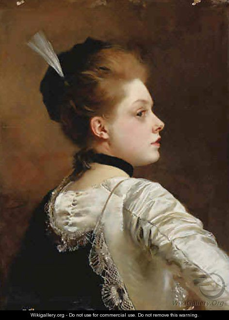 Jeune Fille by Gustave Jean Jacquet (French 1846 - 1909) | Art2 ...