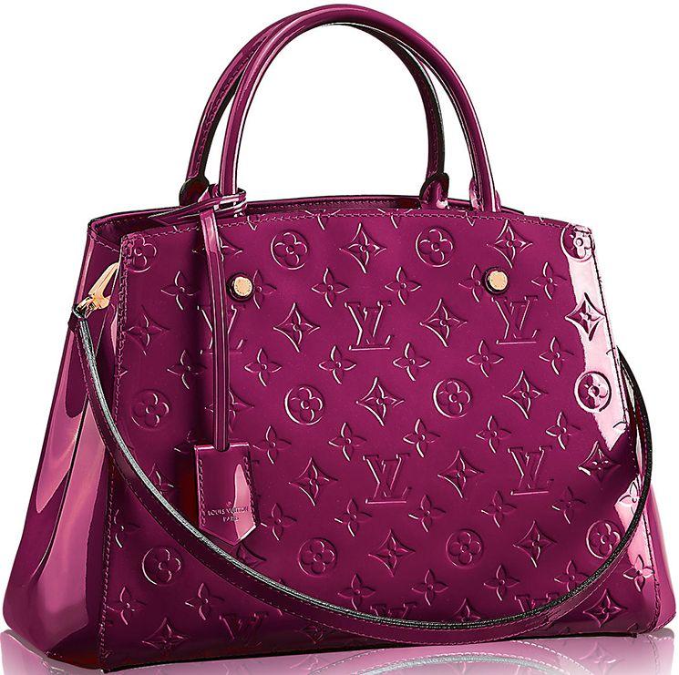 Louis Vuitton Montaigne Monogram Vernis Bag  239b4cb9dc980