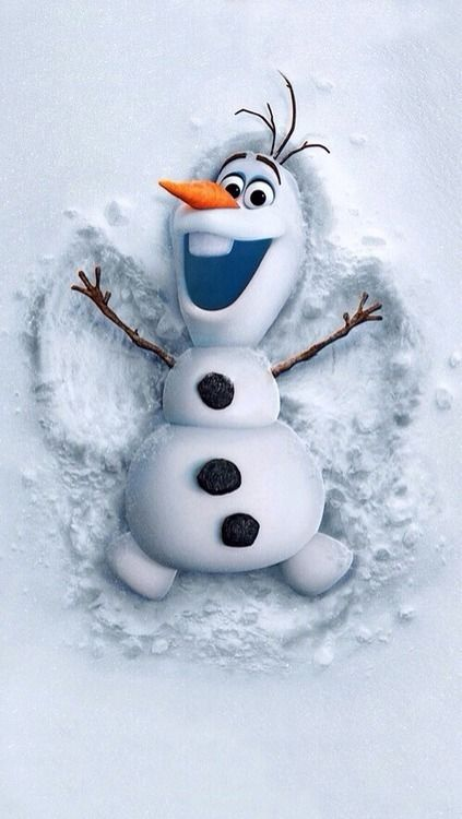 Olaf #Frozen this is a movie but still so adorable that I