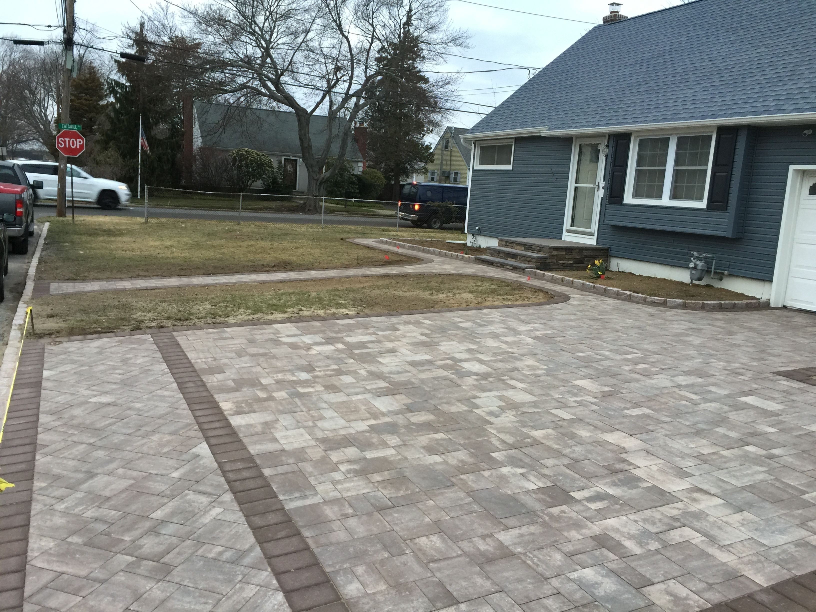 Cambridge Paver Driveway Cambridgepavers Longisland