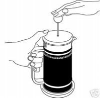Bodum Instructionanuals For The French Press Coffee Maker
