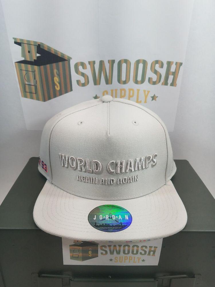 b3540c587e9 NIKE JORDAN WORLD CHAMPS CELEBRATION PACK CONFETTI 91 92 93 3PEAT HAT  789501 072 #Nike #SNAPBACK