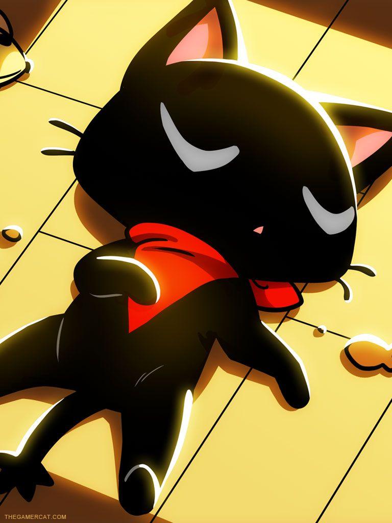 Gamer cat! | Animated For ME ♡ | Pinterest | Fondos de pantalls ...