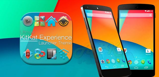 Kitkat 4 4 Launcher Theme V1 93 Download Free Free Android Apps