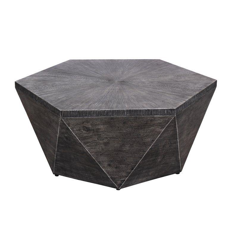 Williston Forge Morwenna Stone Concrete Coffee Table Wayfair Concrete Coffee Table Wicker Coffee Table Metal Coffee Table