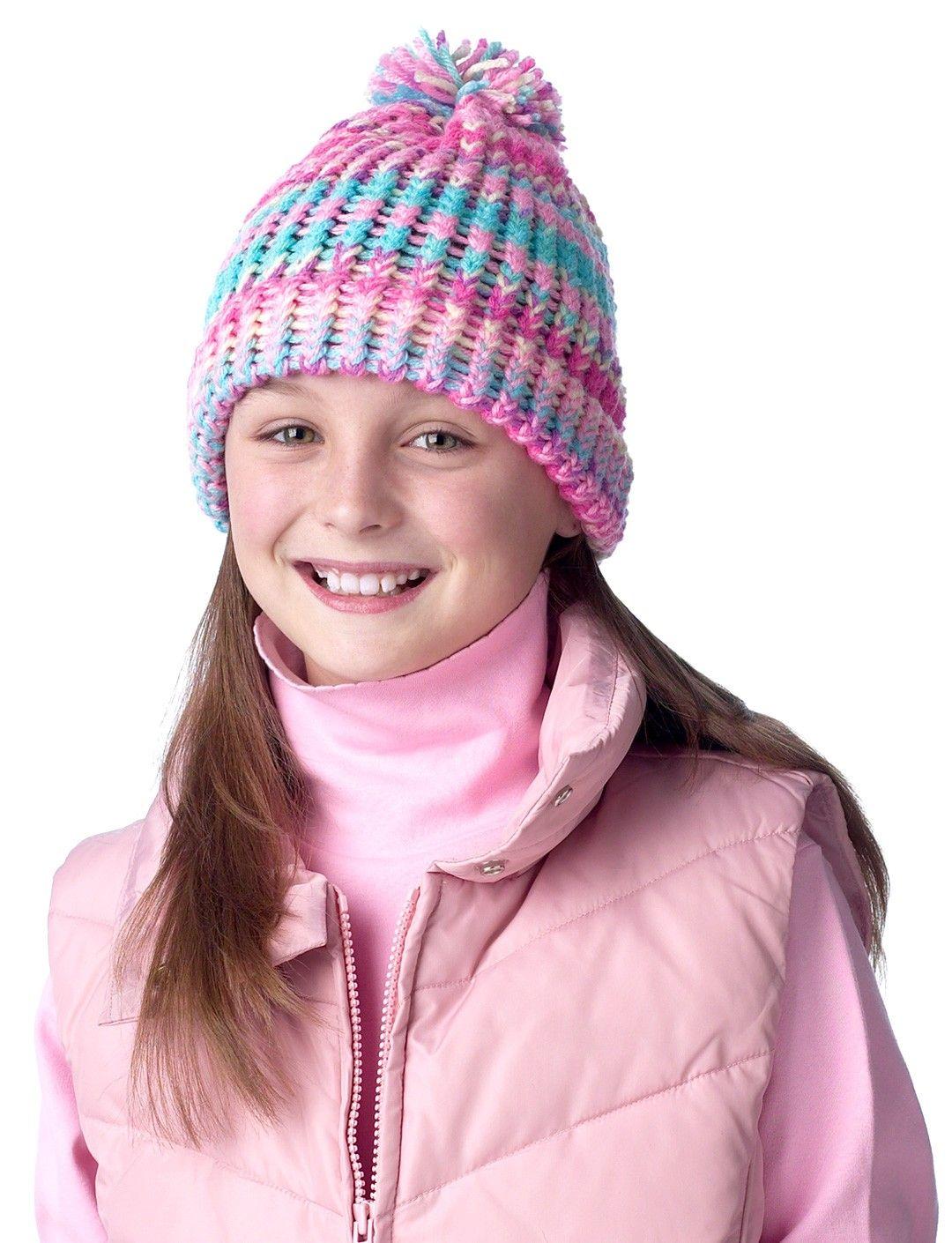 Yarnspirations.com - Bernat Child's Hat - Patterns ...