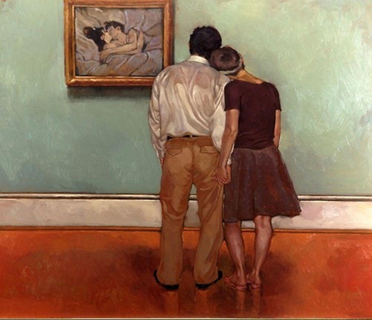 Henri De Toulouse Lautrec In Bed The Kiss 1892 Al Fondo