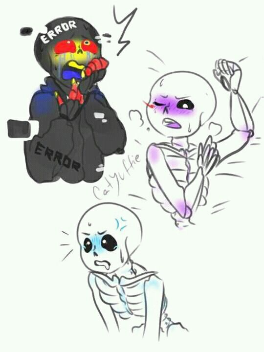 Error Sans X Reader Lemon