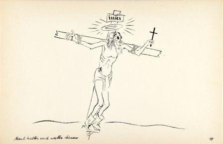 George Grosz Maul Halten Und Weiter Dienen 1927 Fine Art Art Prints