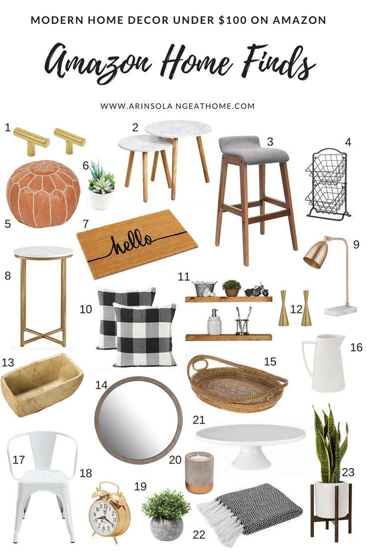 Affordable Amazon Home Finds #homedecoraccessories