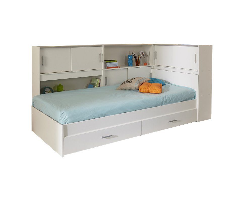 Snoop Bed Slats And Mattress Included In 2020 Bookcase Bed