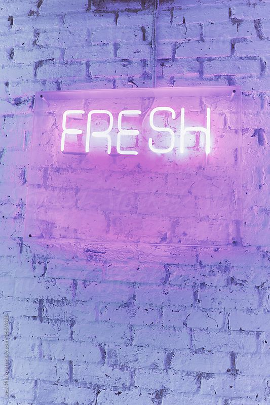 Neon sign saying FRESH | Neon signs, Neon wallpaper, Neon ...