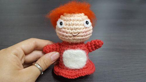 Tsum Tsum Amigurumi Pattern Free : Ponyo free amigurumi pattern crochet amigurumi corner
