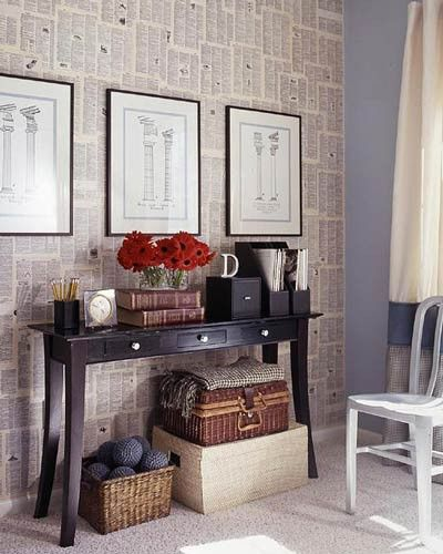 Top Ten Tuesday {5}: 10 Ways to Decorate with Book Pages | Design, Dining + Diapers