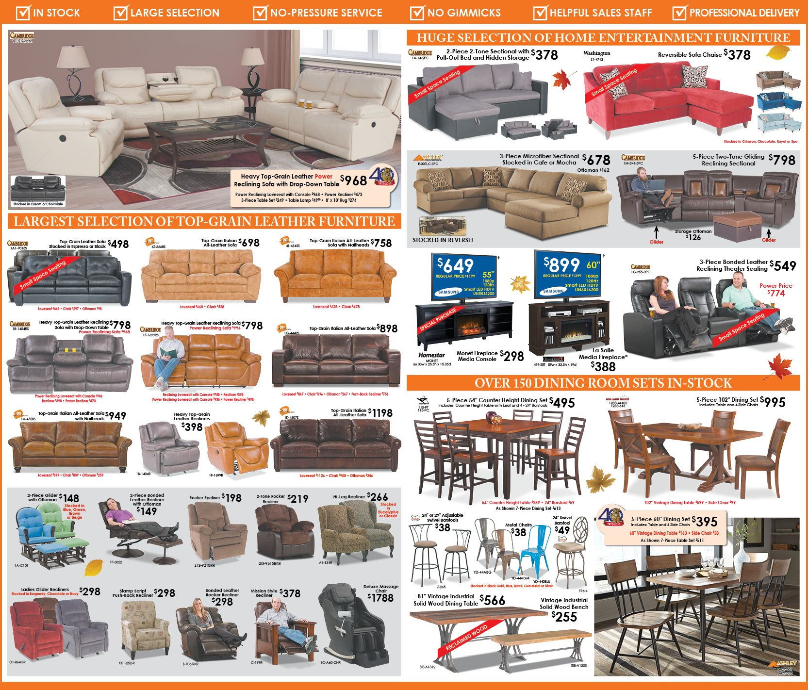 ads afw afw newspaper ads american furniture warehouse