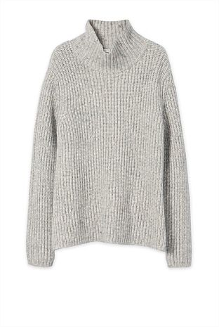 Marle Funnel Neck Knit