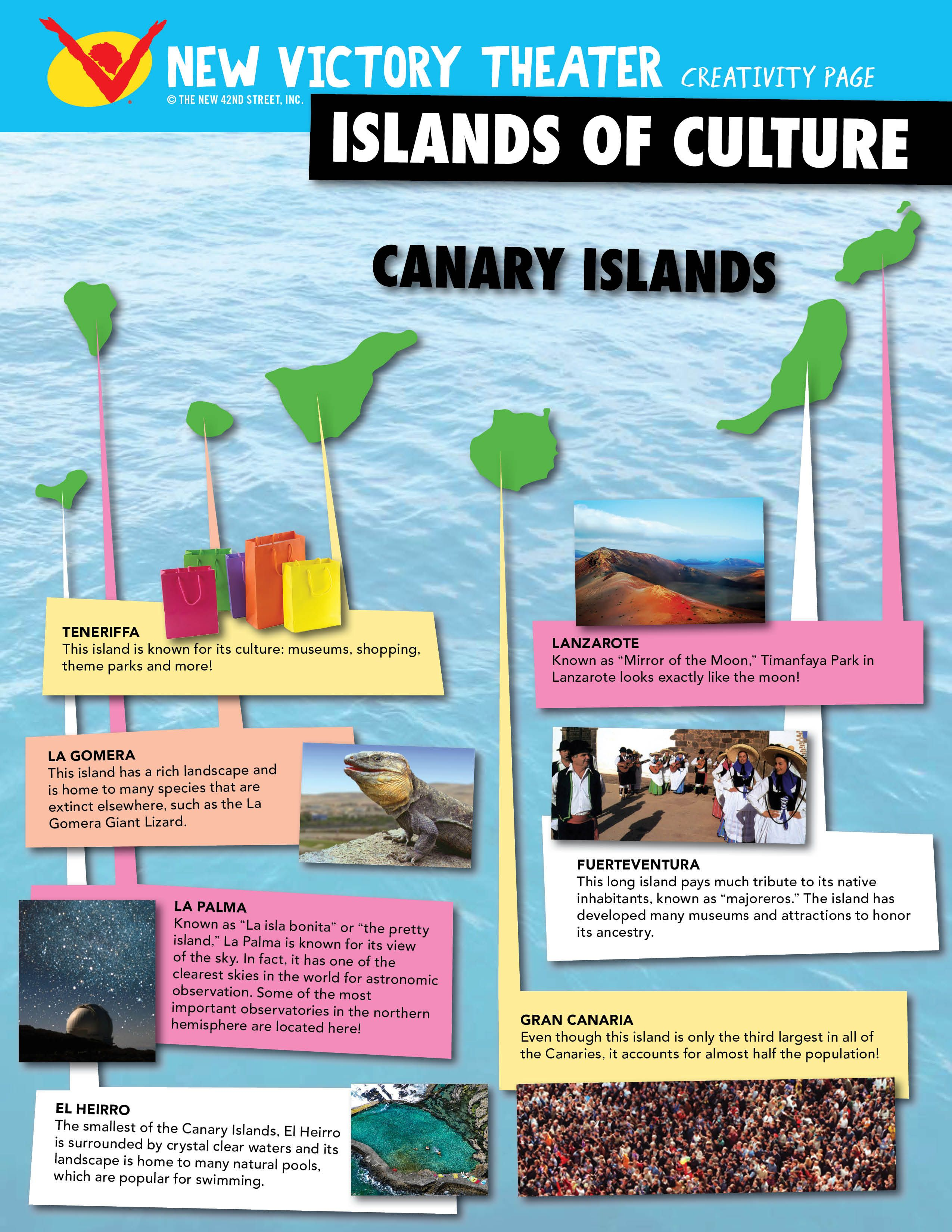 Learn about the culture of the Canary Islands with this printable ...