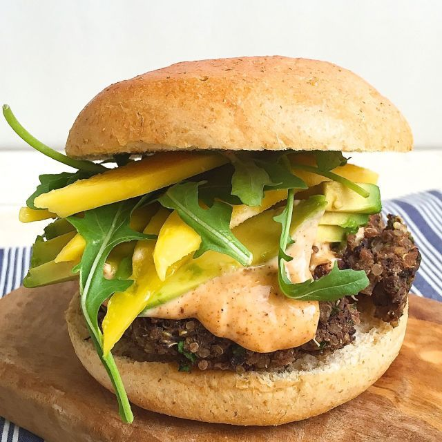 Even Meat Eaters Will Flip For This Surprisingly Meaty Veggie Burger Recipe Vegetarian Recipes Vegetarian Bbq Veggie Burger