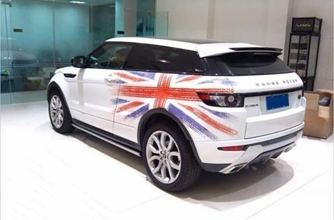 Union jack evoque  Got this from a fan page of Range Rover Facebook