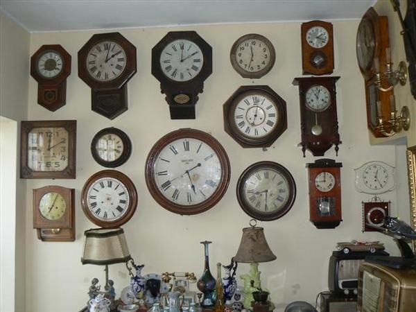 Relojes antiguos relojes vintage y modernos de pared - Relojes antiguos de mesa ...