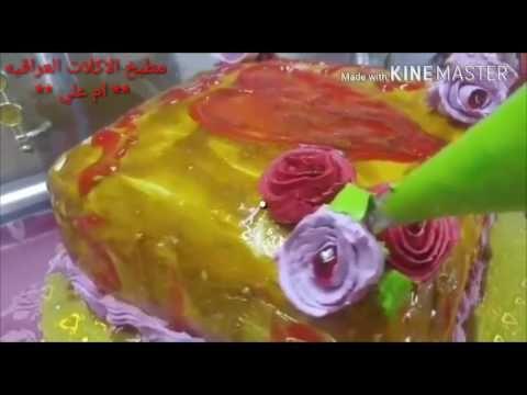 مواد وادوات تزين الكيك فديو مشترك مع مطبخ الاكلات العراقية ام علي Youtube Food Desserts Cake